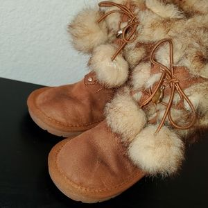 Michael Kors Fuzzy Snow Boots